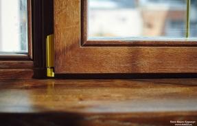 Деревянные окна против пластиковых окон