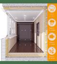 Балкон — гардероб или кладовая