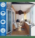 Балкон — комната