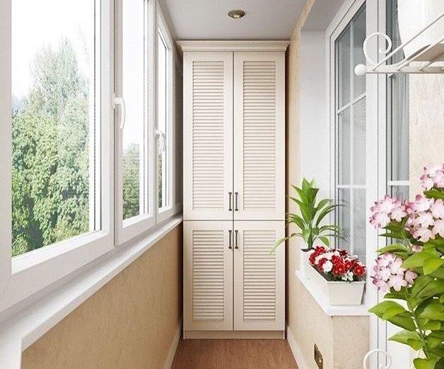 Балкон гардероб
